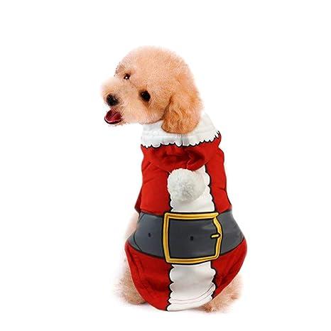 WikiMiu Ropa para Mascotas, Chaqueta para Perro Suéter para Perro Abrigo de Invierno cálido con