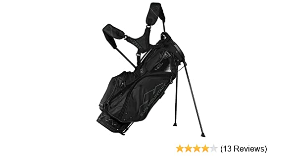 64e3ebe1d0 Amazon.com : Sun Mountain Golf 2018 4.5 LS Stand Golf Bag BLACK (Black) :  Sports & Outdoors