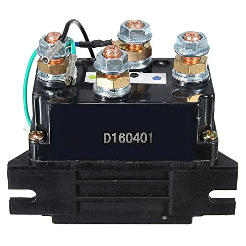 RUNMIND 400A Winch Relay Solenoid DC 12V Car ATV Truck by RUNMIND (Image #2)