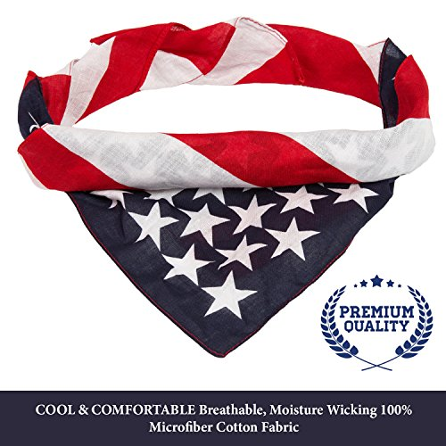 American Flag Bandana by Better Line: 22