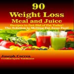 90 Weight Loss Meal and Juice Recipes to Get Rid of Fat Today!: The Solution to Melting Fat Away Fast! | Joseph Correa