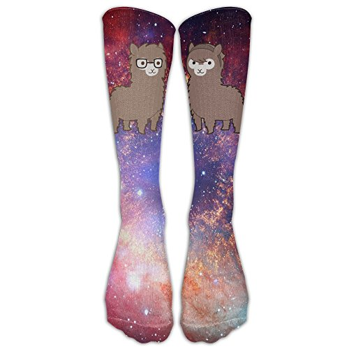 Cute Alpaca Printed Crew Socks Warm Over Boots Stocking Trendy Sports - Be Should Sunglasses Tight