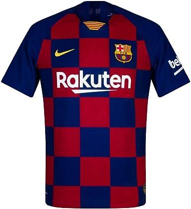 NIKE FCB M Nk Vapor Mtch JSY SS Hm - Camiseta Hombre: Amazon.es: Ropa y accesorios