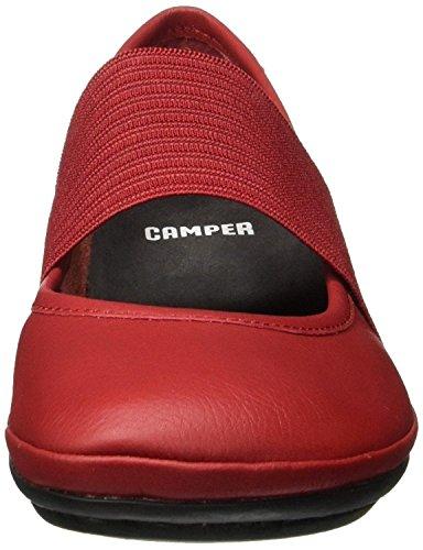 Scarpe Pelle Nina Donne Right 21595 Camper Rosso 7wPZP6