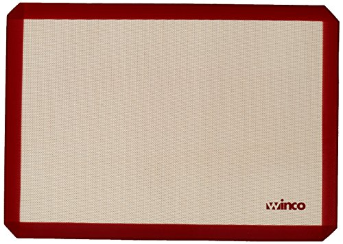 Best Winco Bakewares - Winco Silicone Baking Mat, 14-7/16 by