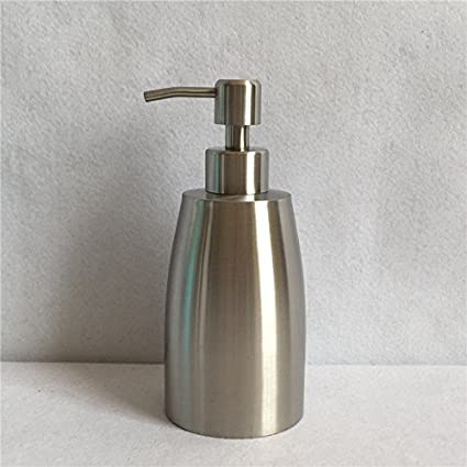 Homedec 304 Acero inoxidable dispensador de jabón líquido para cocinas y baños no oxidado garantía