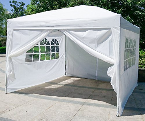 Cheap  BestMassage Urban Style 10'x10' Pop Up Canopy Tent With 4 Sidewalls Party..