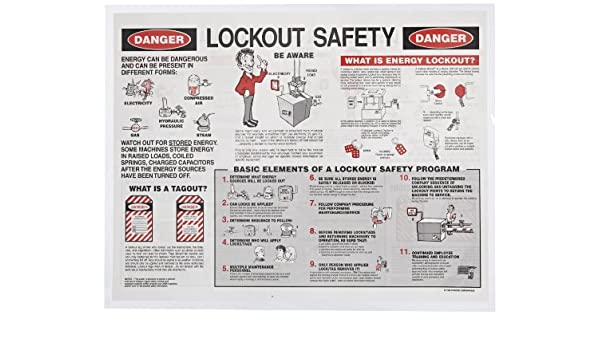 Brady 2112x Individual Lockout Safety Training Booklet (1 Booklet): Industrial Lockout Tagout Devices: Amazon.com: Industrial & Scientific