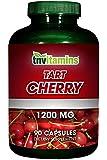 TNVitamins Tart Cherry Extract 1200 Mg (90 Capsules)