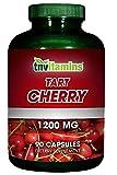 Cheap TNVitamins Tart Cherry Extract 1200 Mg (90 Capsules) NON-GMO