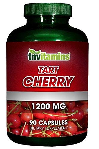 TNVitamins Tart Cherry Extract 1200 Mg (90 Capsules) NON-GMO