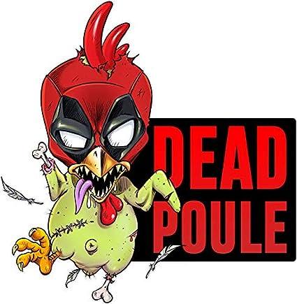 Parodie Deadpool Filles Okiwoki Body b/éb/é Rose Deadpool parodique Deadpool ou Dead Poule : Dead Poule