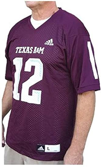 buy popular fd45b 68b66 adidas Texas A&M Aggies Replica Synthetic Football Jersey