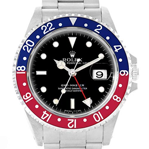 Rolex GMT Master Automatic-self-Wind Male Watch 16700 (Certified Pre-Owned)