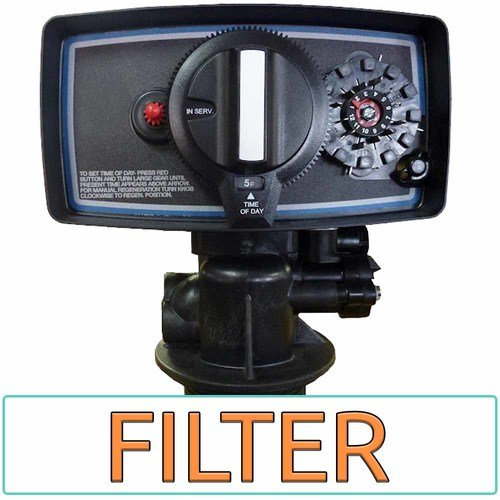 Fleck 5600-FT 5600 Timer Valve Backwash Head for Filter only Tanks, Black