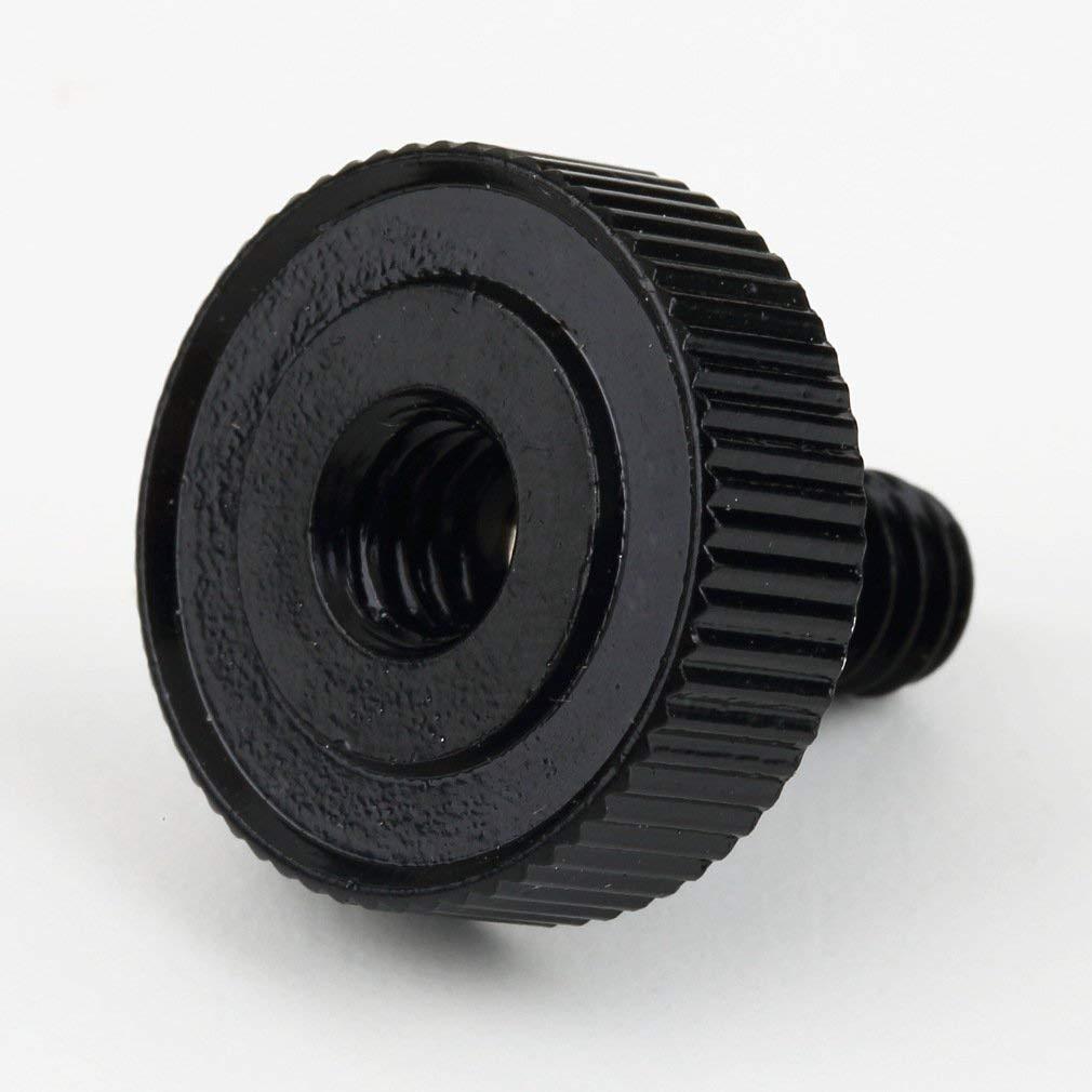 Short 1/4 Screw Hot Shoe Tripod Adapter for Camera/Tripod/Flash Bracket Male to Female Fasteners Nuts Alumium