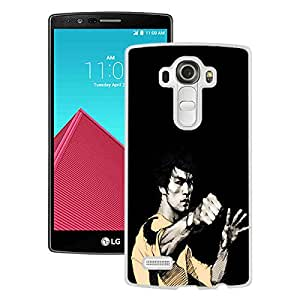 Bruce Lee Punch White New Design LG G4 Protective Phone Case