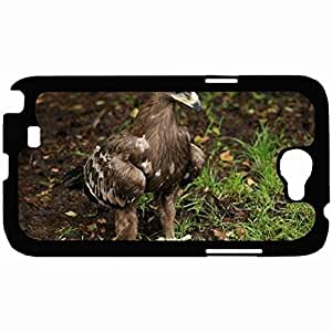 New Style Customized Back Cover Case For Samsung Galaxy Note 2 Hardshell Case, Back Cover Design Eagle Personalized Unique Case For Samsung Note 2