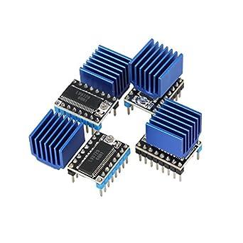 Amazon.com: TWP Impresora 3d partes 4pcs/lot MKS lv8729 ...