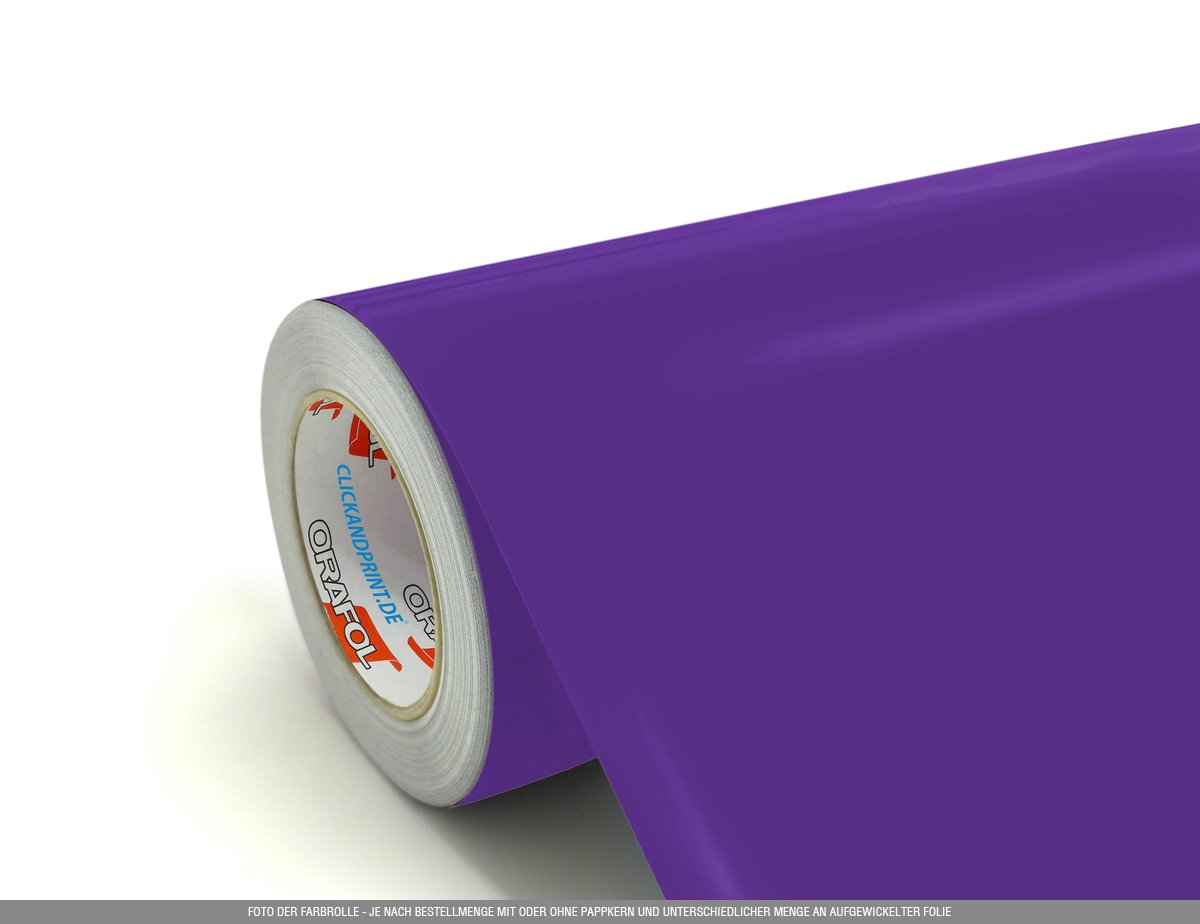50cm breit CLICKANDPRINT  3m Klebefolie Bordeaux /» Oracal 751 Premium Cast