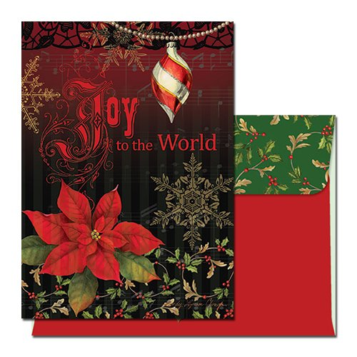 Search : Joy to the World: African American Christmas Card (Box Set of 15)