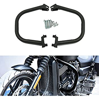 XFMT Highway Engine Guard Crash Protection Bars Compatible with Harley Street Harley Davidson Street 500 XG500 750 XG750 2015-2018 Replace HD#49000047