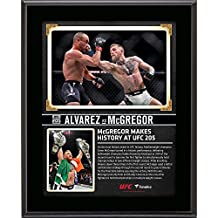 "Conor McGregor Ultimate Fighting Championship 10.5"" x 13"" UFC 205 And New Lightweight Champion Sublimated Plaque - Fanatics Authentic Certified"