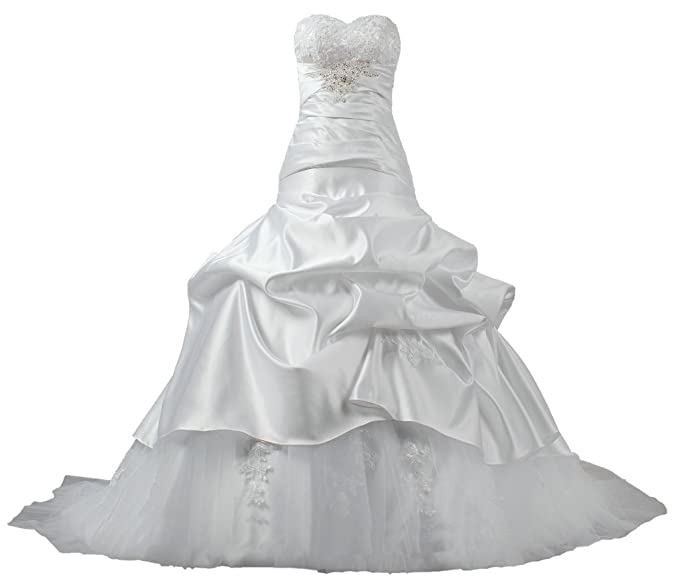 Lace Taffeta Wedding Dress