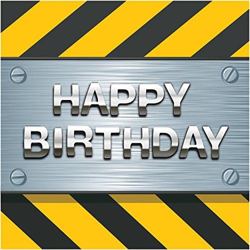 Creative Converting Birthday Construction Napkins