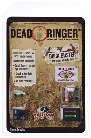 Dead Ringer Mossy Oak Duck Buster Shotgun Sight | Easy Target Acquisition | Fully Adjustable