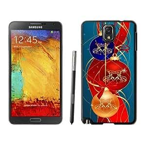 linJUN FENGCustomized Portfolio Merry Christmas Black Samsung Galaxy Note 3 Case 37