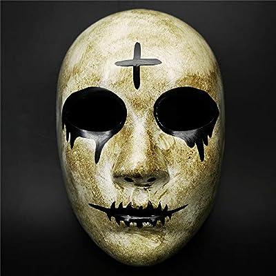 Máscara de Purga de Terror de la Cruz Gris para Hombres, la ...