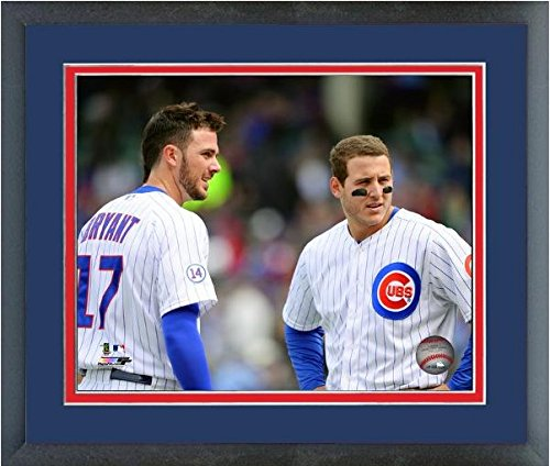 Kris Bryant & Anthony Rizzo Chicago Cubs 2015 Mlb Action Photo Framed