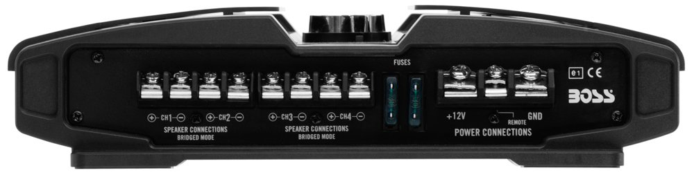 Full Range 2//4 Ohm Stable Class A//B 5 Channel Mosfet with Remote Subwoofer Control Boss Audio Systems Inc. BOSS Audio PV3700 Phantom 3700 Watt Car Amplifers Bridgeable