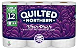 Quilted Northern Ultra Plush Toilet Paper, Pack of 6 Double Rolls, Equivalent to 12 Regular Rolls-Packaging May Vary