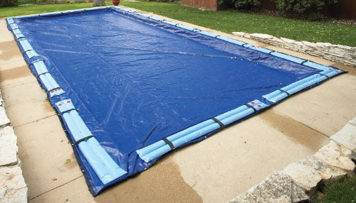 44' Rectangle Green (20' X 44' In-Ground Rectangle Pool Winter Cover - 15 yr)