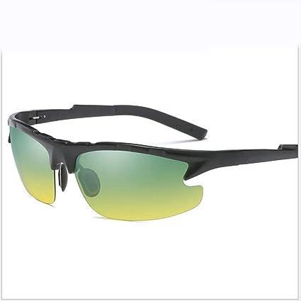 Shisky Gafas Deportivas, Gafas de visión Nocturna Aluminio-magnesio aleación polarizado Hombres Gafas Deportes