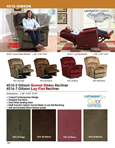 Amazon.com Catnapper Gibson Lay Out Recliner Chair - Sage Fabric Kitchen u0026 Dining  sc 1 st  Amazon.com & Amazon.com: Catnapper Gibson Lay Out Recliner Chair - Sage Fabric ... islam-shia.org