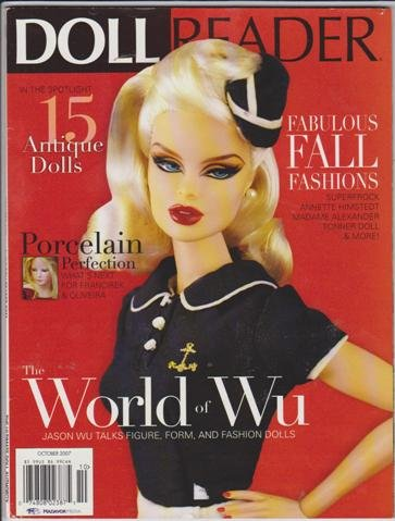 Doll Reader Magazine (October 2007) (The World of Wu - Jason Wu Talks Figure, Form, and Fashion Dolls) (Doll Reader Magazine)