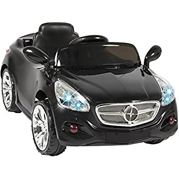 Best Choice Products Kids 12V Electric Power Ride On Car with Radio & MP3, Black