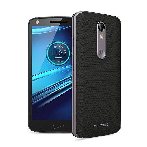 Motorola Droid Turbo2 32GB, Soft Black (Certified Refurbished) (Hd Quad Display)