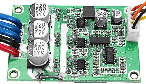 YUNJINGCHENMAN DC12V 30A Controlador de Velocidad de Motor sin escobillas de Alta Potencia DC Regulador de 3 Fases PWM