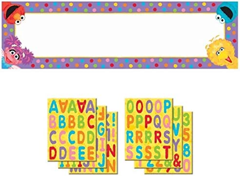 65 x 20 amscan Fun Sesame Street 1st Birthday Personalized Giant Party Sign Banner Multicolor