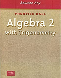 Amazon com: PRENTICE HALL SMITH CHARLES ALGEBRA 2 WITH TRIGOMETRY