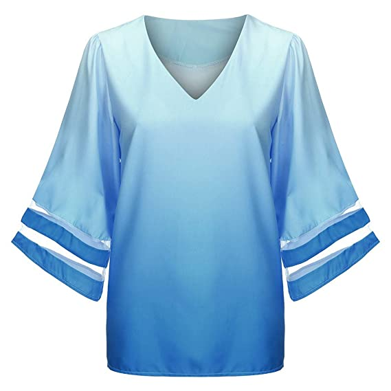 wie kommt man billiger Verkauf zarte Farben Daylin Damen Elegante Blusen und Tuniken Hemd Bluse Sommer ...
