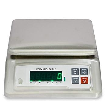 WWL Báscula Digital Contar Cocina, 3-15 Kg Precisión 0.1g Plataforma De Acero