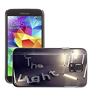 Hot Style Cell Phone PC Hard Case Cover // M00045019 light 3d artistic // Samsung Galaxy S5 i9600