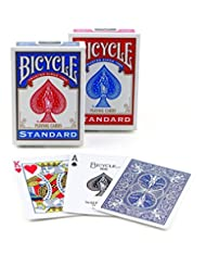 Bicycle Poker Size Standard Index Playing Cards [Colors May V...
