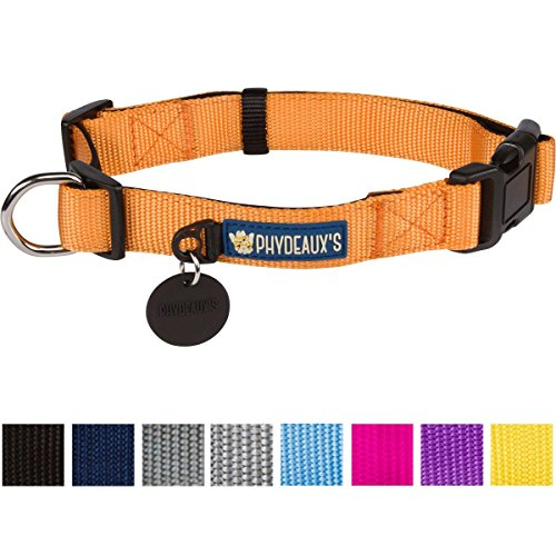 Phydeauxs Strong Collar Orange Lifetime