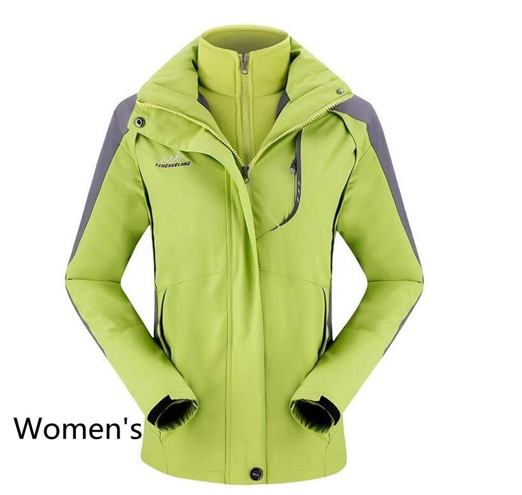 YT-ER 良い安全性の質/男性用女性のソフトシェルクリップg大型スリーインワンツーピーススーツプラスベルベット屋外防水windproof着用ワンピースショルダークリップg / L   B07G82DR39